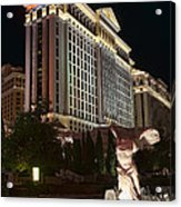 Caesar's Palace Acrylic Print by Eddie Yerkish