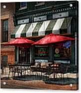 Cafe - Albany Ny - Mc Geary's Pub Acrylic Print by Mike Savad