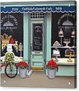 Caitlin's Cakery And Cafe Acrylic Print by Catherine Holman