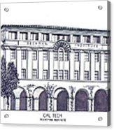 Cal Tech Beckman Acrylic Print by Frederic Kohli
