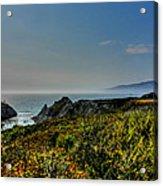 California - Big Sur 003 Acrylic Print by Lance Vaughn
