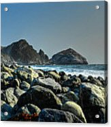 California - Big Sur 012 Acrylic Print by Lance Vaughn