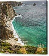California Coast Acrylic Print by Pierre Leclerc Photography