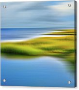 Calm Waters - A Tranquil Moments Landscape Acrylic Print by Dan Carmichael