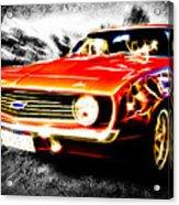 Camaro'd Acrylic Print by Phil 'motography' Clark