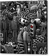 Can 'o' Worms Acrylic Print by Matthew Ridgway
