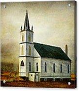 Canadian Prairie Heritage Acrylic Print by Blair Wainman