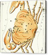 Cancer Constellation - 1825 Acrylic Print by Daniel Hagerman