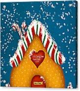 Candy Lane Acrylic Print by Brenda Bryant