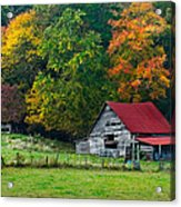 Candy Mountain Acrylic Print by Debra and Dave Vanderlaan