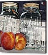 Canning Time Acrylic Print by Barbara Jewell