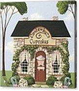 Canterbury Cupcakes Acrylic Print by Catherine Holman