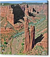 Canyon De Chelly - Spider Rock Acrylic Print by Christine Till