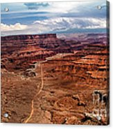Canyonland Acrylic Print by Robert Bales