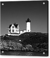 Cape Neddick Light Station Acrylic Print by Mountain Dreams