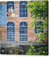 Capitola Cotton Yarn Mill Acrylic Print by Carolyn Marshall