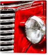 Car - Chevrolet Acrylic Print by Mike Savad