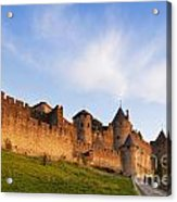 Carcassonne Languedoc Roussillon France Acrylic Print by Colin and Linda McKie