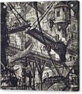 Carceri Vii Acrylic Print by Giovanni Battista Piranesi