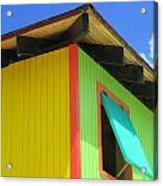 Caribbean Corner 2 Acrylic Print by Randall Weidner