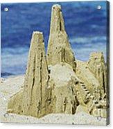 Caribbean Sand Castle  Acrylic Print by Betty LaRue