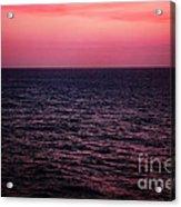 Caribbean Sunset Acrylic Print by Kim Fearheiley