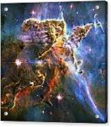 Carina Nebula 6 Acrylic Print by The  Vault - Jennifer Rondinelli Reilly