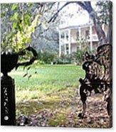 Casa Blanca Acrylic Print by Elbe Photography