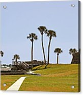 Castillo De San Marcos St Augustine Fl Acrylic Print by Christine Till