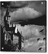 Castle In The Sky Acrylic Print by Bob Orsillo
