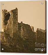 Catapult At Lastours  Acrylic Print by France  Art