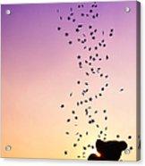 Catch A Falling Star Acrylic Print by Tim Gainey