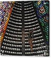 Catedral Metropolitana Do Rio De Janeiro Acrylic Print by Barbie Corbett-Newmin