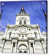 Cathedral-basilica Of St. Louis King Of France Acrylic Print by Paul Velgos