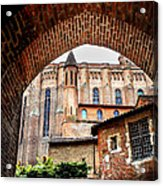 Cathedral Of Ste-cecile In Albi France Acrylic Print by Elena Elisseeva