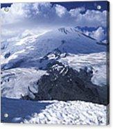 Caucasia Elbrus Acrylic Print by Unknown