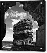 Cave With A View Acrylic Print by Tony Reddington