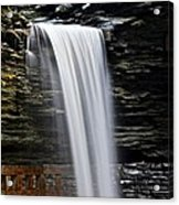 Cavern Cascade Acrylic Print by Frozen in Time Fine Art Photography