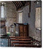 Celynnin Church V2 Acrylic Print by Adrian Evans