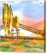 Cement Plant II Acrylic Print by Kip DeVore