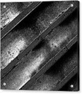 Cement Steps Number Two Acrylic Print by Bob Orsillo