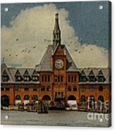 Central Railroad Of New Jersey Acrylic Print by Juli Scalzi