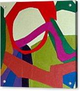 Cha Cha Acrylic Print by Diane Fine