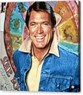 Chad Everett In The Rousters  Acrylic Print by Silver Screen