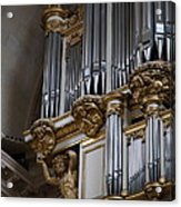 Chapel At Les Invalides - Paris France - 01135 Acrylic Print by DC Photographer