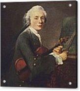 Chardin, Jean Baptiste Siméon Acrylic Print by Everett