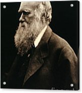 Charles Darwin By Julia Margaret Acrylic Print by Wellcome Images