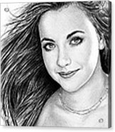 Charlotte Church Acrylic Print by Andrew Read