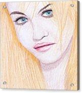 Charlotte Free Acrylic Print by M Valeriano