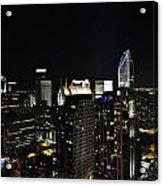 Charlotte Night Magic 2 Cnm2 P Acrylic Print by Jim Brage
